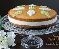 Semolina Layer Cake (Toorte Basbuusa) Gâteau de Semoule à Étages تورتة البسبوسة بالقشطة