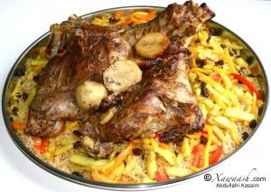 Somali Rice (Bariis Soomaali)