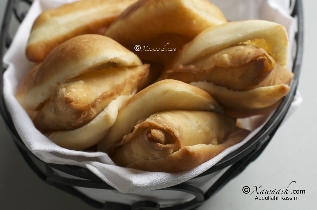 Sweet Fried Bread & Samosas