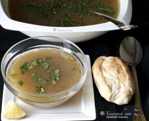 Somali Lamb Soup (Fuud Ari)