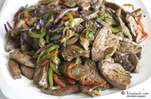 Liver &amp; Onions (Beer iyo Basal)