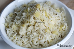 Potato & Cumin Rice (Pilau)