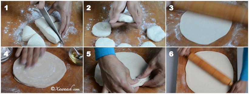 Easy recipe for samosa dough