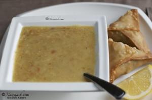 Barley Soup (Shurbad) شوربة الحب - القمح