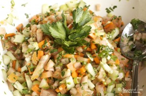 Refreshing Salad (Insalaaddo) سلطة منعشة