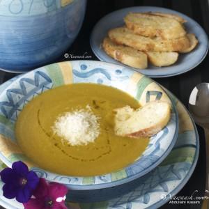 Vegetable Soup (Barooddo Qudaar) شربة خضار