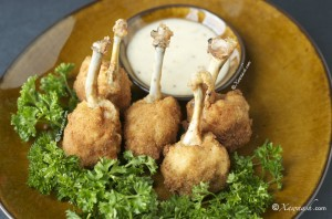 Chicken Lollipop (Garbo Digaag La-Shiilay) عيدان اجنحة الدجاج