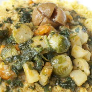 Vegetable Stew (Maraq Qudaar) مرق الخضار