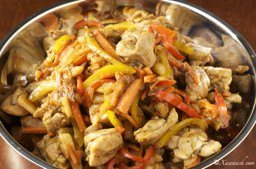 Cubed Chicken Suqaar Digaag Poulet En Des مكعبات الدجاج Xawaash Com