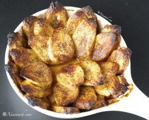 Baked Plantains 1 - Somali Food Blog