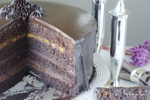 Chocolate Cake 1 - Somali Food Blog