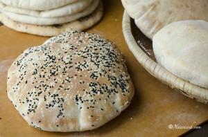 Pita Bread 1 - Somali Food Blog