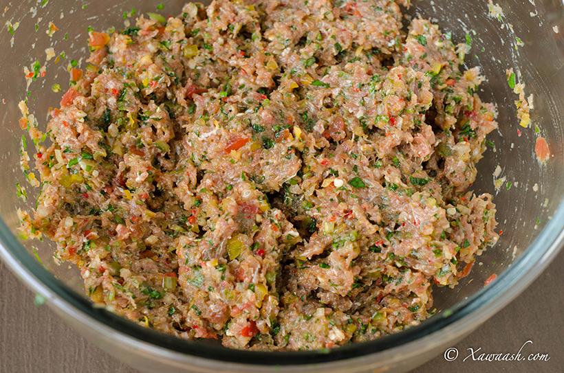 salade huit couche