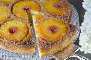 Pineapple Upside-Down Cake 1 - Somali Food Blog