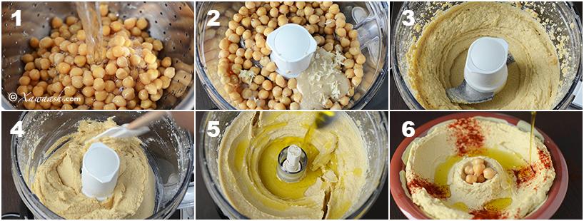 houmous or hummus recipe