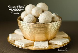 Sesame Peanut Laddu - Featured Image
