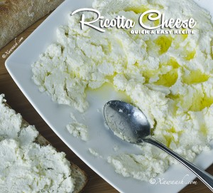 Quick Ricotta Cheese - Feartured Image 2