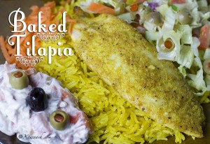 Baked Tilapia - Featured Image