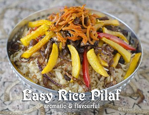 Easy Rice Pilaf - Featured Image