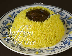 Saffron Rice Featured Image