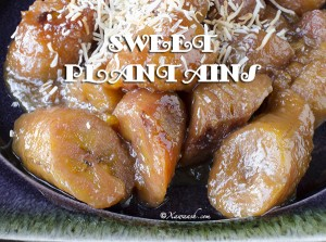 Sweet Plantains - Featured Image