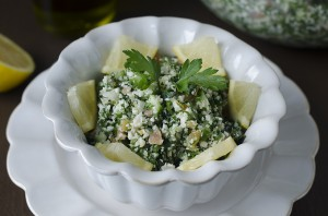 Cauliflower Tabbouleh - Featured Image