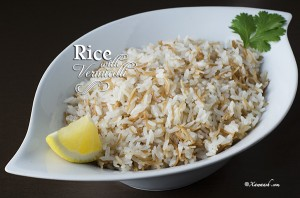 Rice with Vermicelli - Featured Image
