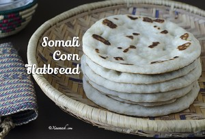 Somali Corn Flatbread - Featured Image