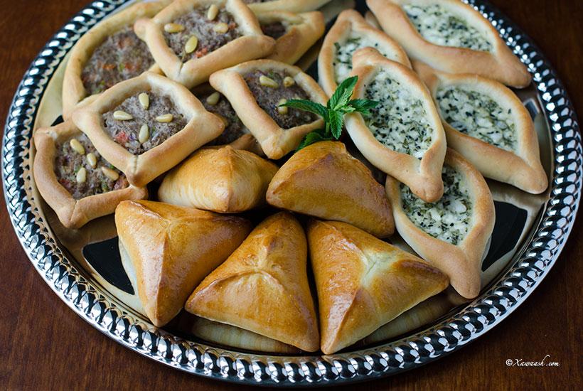 Fatayer dough cajiin fataa ir p te fatayer for Arabic cuisine names